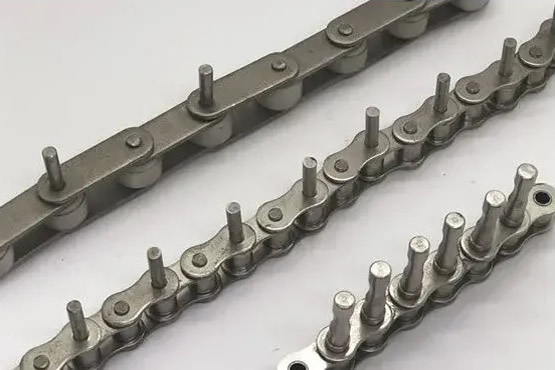 ROLLER CHAINS WITH EXTENDED PINS